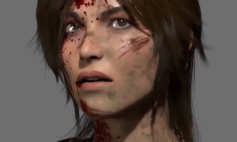 Rise of The Tomb Raider : modélisation et expressions de Lara Croft