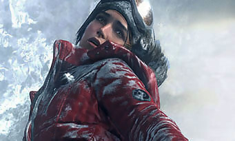 Rise of the Tomb Raider : du gameplay dans la neige