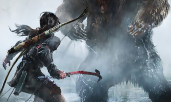 Rise of the Tomb Raider : trailer de gameplay dans la neige sur Xbox One