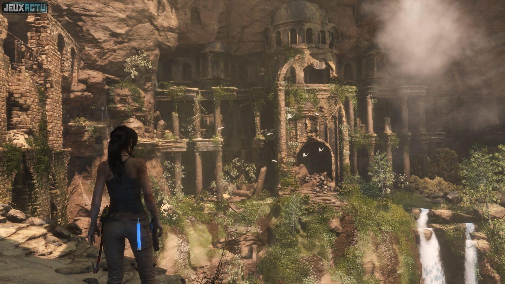 Tomb Raider (50) Terminez tous les défis tombeau en une seule partie. Botte secrète (10) Tirez sur une bouteille en l'air. Triple menace (10) Tuez 3 ennemis d'un seul coup de fusil à pompe.