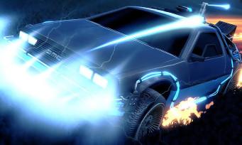 Rocket League : trailer de la DeLorean de Retour Vers le Futur
