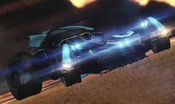 Rocket League : on pourra bientôt jouer avec la Batmobile de Dawn of Justice