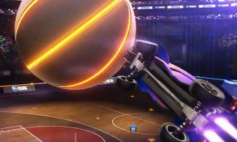 Rocket League : trailer de gameplay du mode basket-ball