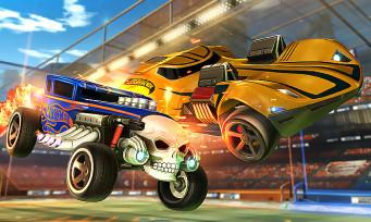 """Rocket League : un trailer qui annonce l'arrivée du DLC """"Hot Wheels"""""""