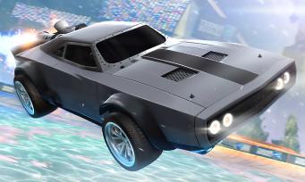 """Rocket League : le trailer du DLC """"Fast and Furious 8"""""""