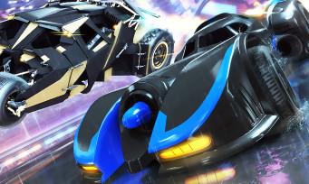 Rocket League : le trailer du pack DC Super Heroes avec deux batmobiles