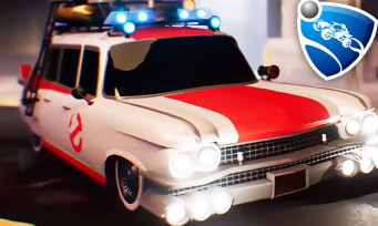 Rocket League : les voitures de Ghostbusters et K 2000 disponibles !