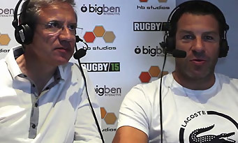 Rugby 15 : trailer des commentateurs