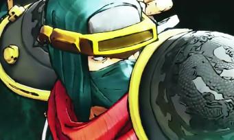 Samurai Spirits : les attaques d'Hanzo présentées en vidéo