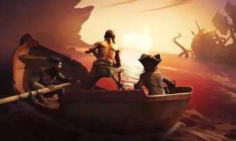 Sea of Thieves : quand le jeu essaie d'en mettre plein la vue en vidéo