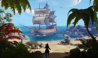Sea of Thieves : une vidéo qui explique le concept du jeu