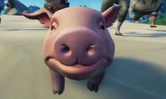 Sea of Thieves : un trailer de lancement avec un cochon !