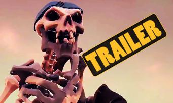 Sea of Thieves : le DLC Cursed Sails part à l'abordage, nouveau trailer maritime
