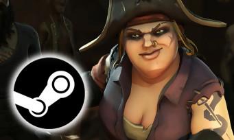 Sea of Thieves : un trailer pour annoncer l'arrivée du jeu sur Steam