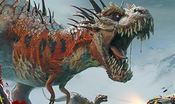 Second Extinction : une vidéo de gameplay remplie de dinosaures