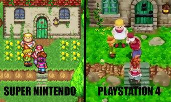 Secret of Mana 3D : un comparatif vidéo entre l'original et le remake sur PS4