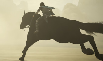Shadow of the Colossus : 5 min de gameplay avec des graphismes somptueux