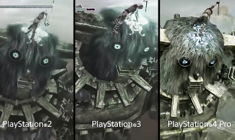 Shadow of the Colossus : PS2 vs PS3 vs PS4, voici le comparatif vidéo