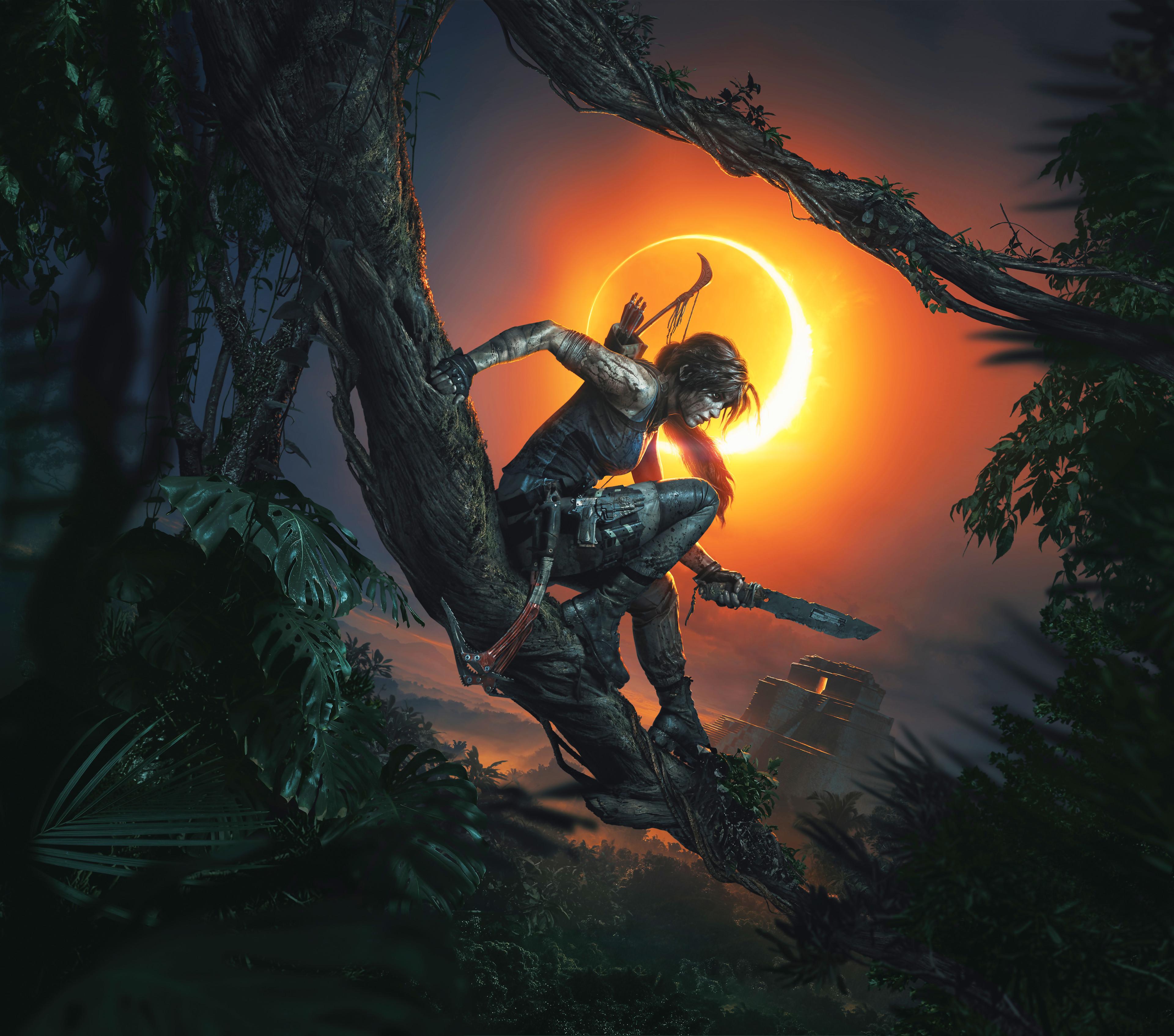Tomb Rider Wallpaper: Shadow Of The TOMB RAIDER : Une Image De Lara Croft Ultra