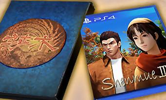 Shenmue 3 : les versions boîtes PS4 et PC dévoilées en images !