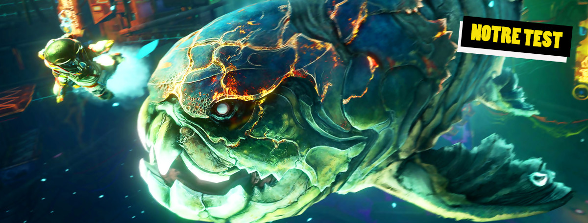 Test Shinsekai Into the Depths : Capcom tente le Metroidvania sous-marin