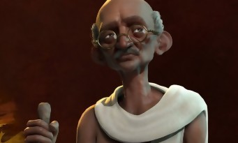 Civilization VI : trailer de Gandhi
