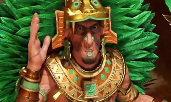 Civilization VI : un trailer pour le peuple des Aztèques