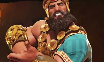 Civilization VI : Gilgamesh roi des Sumériens se présente en vidéo