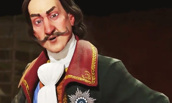 Civilization VI : trailer de gameplay de la Russie avec Pierre Le Grand