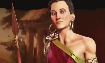Civilization VI : trailer de gameplay de Gorgô sur la Grèce