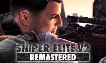 Sniper Elite V2 Remastered : une première vidéo officielle du jeu