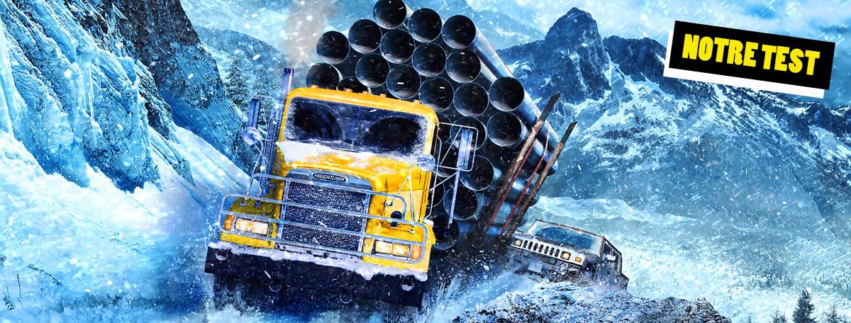 Test SnowRunner : les camions ne sont plus si ternes...