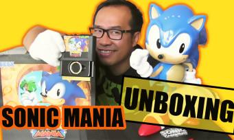 Sonic Mania : notre unboxing du gros collector à 100€