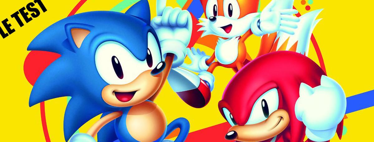 Test Sonic Mania (PS4) : comme au bon vieux temps ?