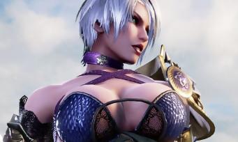 SoulCalibur VI : trailer de gameplay d'Ivy et sa tenue indécente