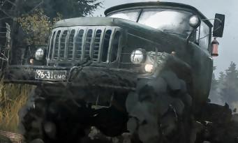 Spintires MudRunner : du gameplay avec plein de boue