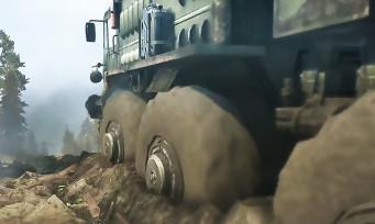 Spintires MudRunner : trailer de gameplay du jeu de course dans la boue