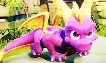 Spyro Reignited Trilogy : une longue séquence de gameplay nostalgique !