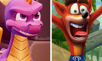 Spyro / Crash Bandicoot : un bundle avec les deux remasters HD ?