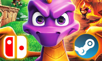 Spyro Reignited Trilogy : le jeu va sortir sur d'autres plateformes !