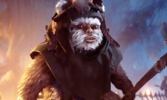 Star Wars Battlefront 2 : un premier trailer avec les Ewoks