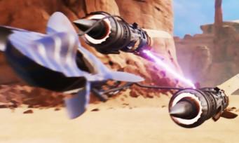Star Wars  Episode I Racers : un trailer de lancement qui file à toute berzingue