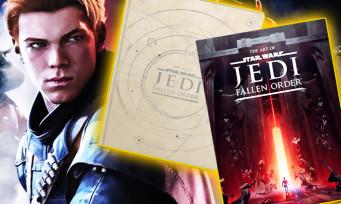 Star Wars Jedi Fallen Order : premières images spatiales de l'artbook officiel