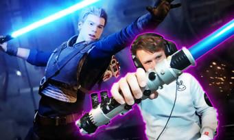 Star Wars Jedi Fallen Order : un rend un vrai sabre laser compatible