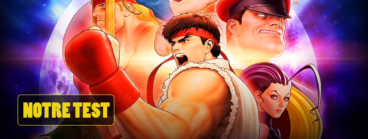 Test Street Fighter 30th Anniversary Collection : du bon recyclage ?