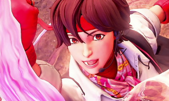 Street Fighter 5 : trailer de gameplay de Sakura