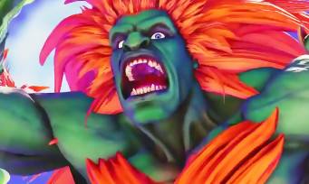 Street Fighter 5 : trailer de gameplay de Blanka