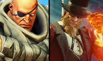 Street Fighter 5 : trailer de gameplay de G et de Sagat