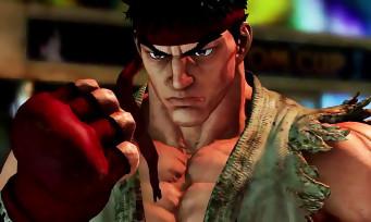 Street Fighter 5 : le trailer sur PS4