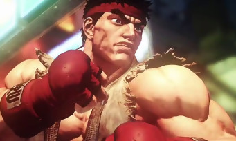 Street Fighter 5 : gameplay trailer sur PS4